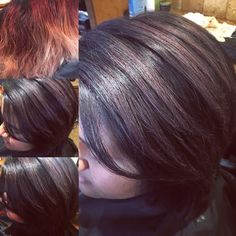 Beauty by Naomi  Purple silver hair color correction