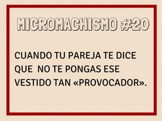 Micromachismo #20