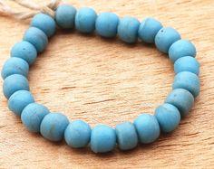 African Glass Beads Recycled Glass Beads Krobo Beads by Krobobeads