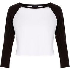 New Look White Colour Block Raglan Crop Top (240 MXN) ❤ liked on Polyvore featuring tops, white pattern, colorblock top, pattern tops, print top, crop top and raglan sleeve top