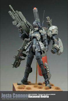 ( *`ω´) ιf you dᎾℕ't lιkє Ꮗhat you sєє❤, plєᎯsє bє kιnd Ꭿℕd just movє ᎯlᎾng. Character Concept, Concept Art, Character Design, Phantasy Star Online, Frame Arms Girl, Robot Girl, Sci Fi Armor, Gundam Art, Custom Gundam
