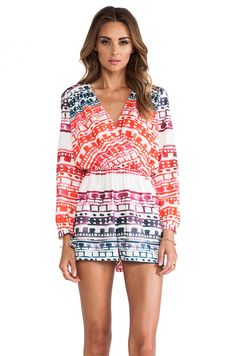 #REVOLVEclothing-Natures romper