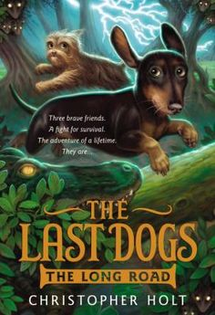 """The Miami Lakes Tween Book Club's February selection is """"The Long Road (The Last Dogs series)"""" by Christopher Holt. The discussion is on Saturday, February 28 @ 10:30 am."""