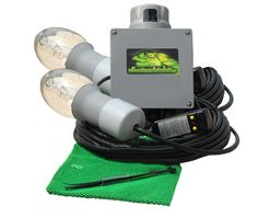 Green Monster Double Light attracts fish to your dock or pier! Marine Lighting, Dock Lighting, Boat Hoist, Underwater Lights, Old Boats, Green Monsters, Fish, Pisces