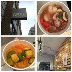 Old Street is a 5 minute walk from Shoreditch High Street and has an amazing Thai Street food place called GRAB.