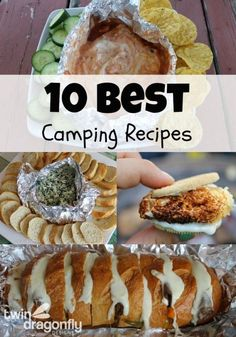 10 Best Camping Recipes - great list for summer!