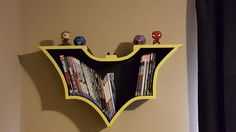 Batman Comic Book Shelf Check out the full project http://ift.tt/2mzsXD1 Don't Forget to Like Comment and Share! - http://ift.tt/1HQJd81
