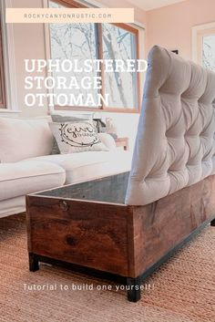 Diy Furniture Couch, Diy Furniture Plans, Furniture Projects, Furniture Makeover, Furniture Design, Furniture Storage, Wood Projects, Diy Furniture Videos, Diy Couch