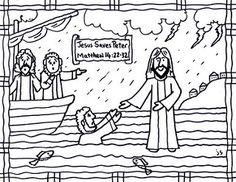 Crafts For Christ Jesus Walks On Water