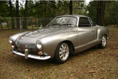Karmann Ghia. I always liked that chirping sound a vintage VW made.