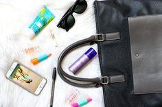 What's In My Bag? Rimmel London US #KeepCalmLipBalm is an essential for dry lips! #ad