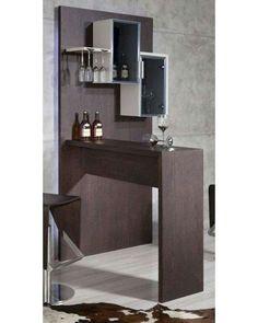 Mini Bar At Home, Diy Home Bar, Bars For Home, Living Room Bar, Living Room Wall Units, Living Room Modern, Home Bar Rooms, Home Bar Areas, Living Room Partition Design
