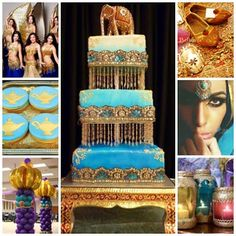 Arabian Nights / Moroccan Sweet Fifteen Theme