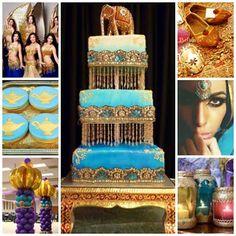 Arabian Nights / Moroccan Sweet Fifteen Theme