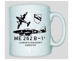 Tasse ME 262 / mehr Infos auf: www.Guntia-Militaria-Shop.de