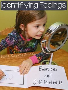 All About My Feelings: Identifying Emotions with Self Portraits | Still Playing School