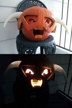 Funny pictures about Skyrim Pumpkin. Oh, and cool pics about Skyrim Pumpkin. Also, Skyrim Pumpkin. Halloween Pumpkins, Halloween Crafts, Halloween Decorations, Halloween Party, Halloween Ideas, Halloween Stuff, Halloween Witches, Halloween Jack, Halloween Quotes