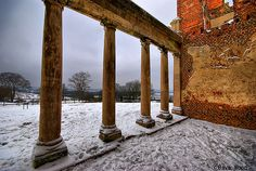Houghton House, Bedfordshire Houghton House, English Manor Houses, Derbyshire, Beautiful Scenery, Wales, Britain, Past, England, Europe