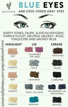 Pigment powders that make blue eyes pop! ☺ www.youniqueproducts.com/makeupbydanamarie