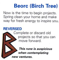 Beorc ( Birch Tree )