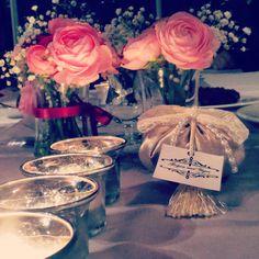 My engagement gifts/ best smell- customized- totally hand craft- bow- ekru-krem rengi/ kudale- lavanta kesesi- kisiye ozel- hediye- nişan-söz-düğün-kına gecesi- bridal- bride /groom/ by sundesign- sundesgn- istanbul- turkey- nikah şekeri - flower -mason jar - table decoration-