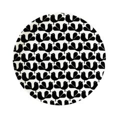 Woodstock Plate in Black