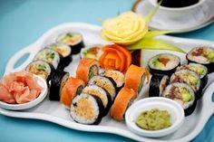 Photo Sushi, Tasty, Lovers, Japanese, Ethnic Recipes, Food, Design, Meal, Japanese Language