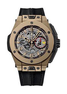 Big Bang Ferrari Magic Gold 45mm Chronograph watch from Hublot