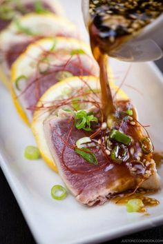 Tuna Tataki | Just One Cookbook