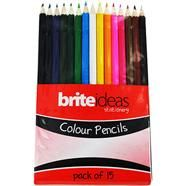 Pack of 15 Colouring Pencils NOW £1 delivered using code FREE2DAY @ The Works