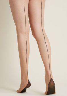 PENTI Strumpfhose High-Heels mit Komfort *Extra Pad* *Schwarz*