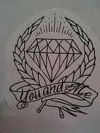 neo traditional tattoo diamond - Google Search