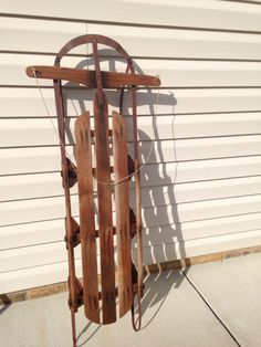 Old sled for Mom Sled, Porch Decorating, Front Porch, Wind Chimes, Mom, Outdoor Decor, Home Decor, Lead Sled, Balcony Decoration
