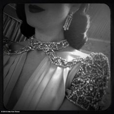Dita Von Teese - Normally I am not a big fan of looks like this, but it isn't gaudy.  It actually looks classy.