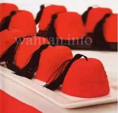 طريقة عمل حلوى الطربوش | وهران إنفو