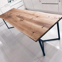 68 best oak table images table legs desk log furniture rh pinterest com