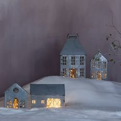"""Nostalgic villages take shape on the mantel or below the tree with our exclusive Town & Country collection of zinc structures, including this hand-crafted farm house lantern. Create a cityscape or farmstead in miniature with two distinctive collections.- A terrain exclusive- Iron- Wipe clean with dry cloth- Indoor use only- Imported10""""H, 6.75""""W, 6.5""""L"""