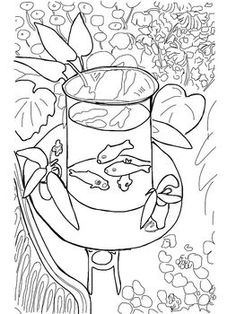 15 Best Art Coloring Sheets Images On Pinterest