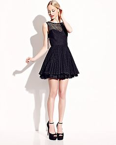 Betsey Johnson LOW CUT BACK PARTY DRESS This dress should make its way into my closet.