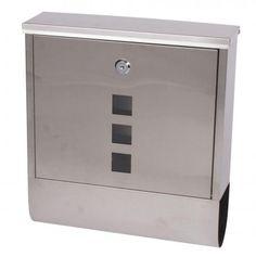 Strend Pro Schránka GL-21, nerez, 340x310x100 mm Filing Cabinet, 21st, Storage, Furniture, Home Decor, Purse Storage, Decoration Home, Room Decor, Larger