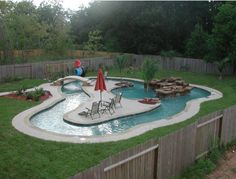 Can't remember where I found this, but I wouldn't mind having this in my backyard!