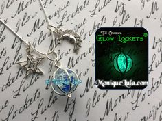 Hey, I found this really awesome Etsy listing at https://www.etsy.com/listing/218179320/moon-stars-glowing-orb-charm-galaxy-glow