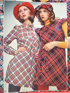 1972 - Plaid.  I had this Seventeen.  I loved that plaid top on the left when I was in the 8th grade.