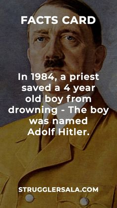 I don't think this is true considering that it happened in 1984 which is 39 years after the end of World war II Wierd Facts, Wow Facts, Intresting Facts, Real Facts, Wtf Fun Facts, True Facts, Funny Facts, Random Facts, World History Facts