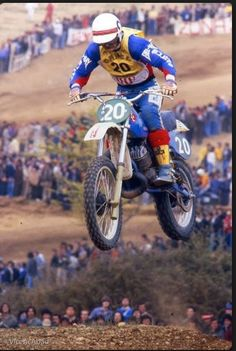Jim Pomeroy, Professional Motocross Racer - grew up in Yakima, WA - graduated from West Valley High School in 1971.