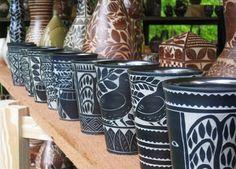Matthew Metz sgraffito pottery ceramics clay