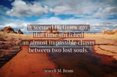 """Chasm"" by Araceli M. Ream (15 word story)"
