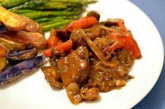 Seitan and Mushroom Bourguignon #MeatlessMonday #dinner @one green planet