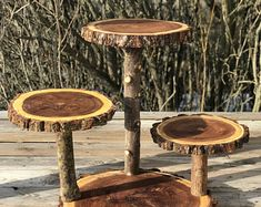 Large Log Elm Wood Rustic Cake 65 Cupcake Collapsible Stand Wedding party shower wooden, donut, lumberjack party, boho, wild things are Cupcake Stand Wedding, Cake And Cupcake Stand, Cupcakes, Rustic Cake Stands, Glam Look, Lumberjack Party, Willow Wood, Pumpkin Colors, Velvet Pumpkins