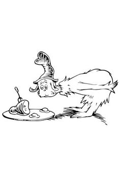 Green Eggs And Ham Coloring Page From Category Select 29511